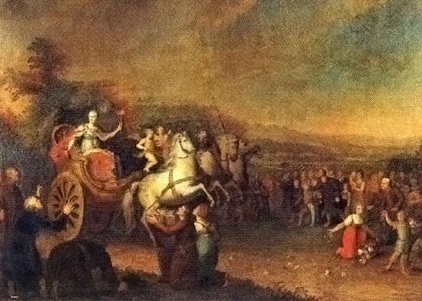 Путешествие Екатерины II по России в 1787 году.