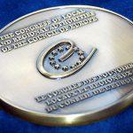 Совет Европы наградил Евпаторию медалью и дипломом.