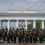 Фестиваль военных оркестров в Севастополе.