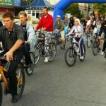 Велосипедное движение в Евпатории.