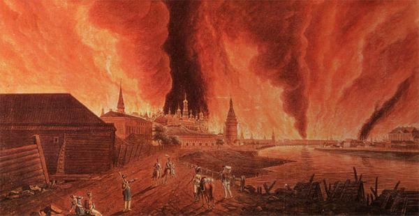 1812 пожар Москвы