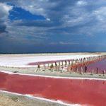 Солёное озеро Сасык-Сиваш