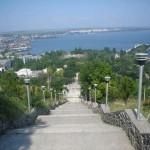 Керченский морской торговый порт.