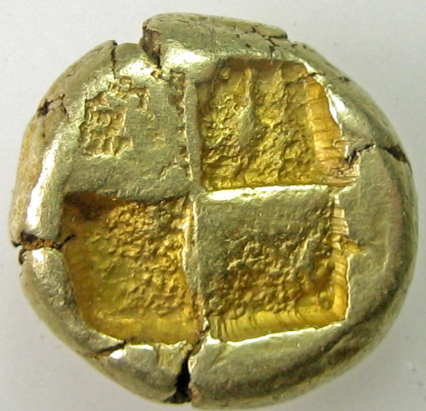 7 - Мисии, Lampsakos. 500-450 до н. EL Статер (15,34 г).Пегас влево-
