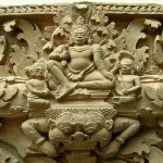 Главные боги Риг-веды – Агни и Индра.
