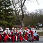 Фоторепортаж о 8 фестивале «Санта Клаус отдыхает, на арене дед Мороз»