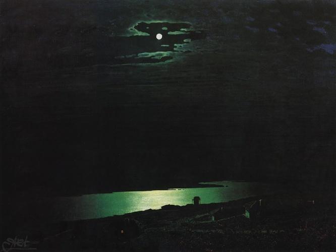 Куинджи -Лунная ночь на Днепре