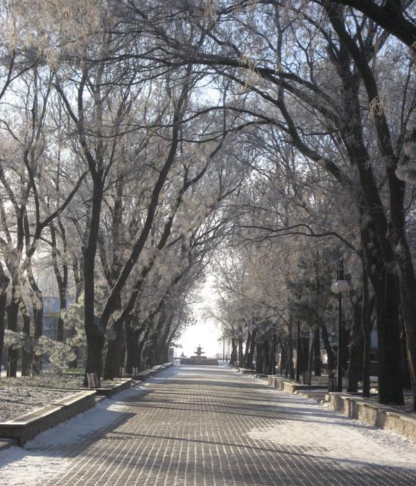 По улице Фрунзе