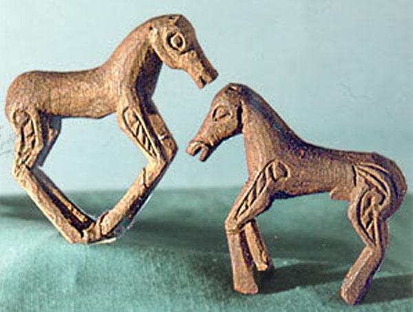 пазырык-пара коней