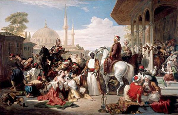работорговля_Стамбул - Турция