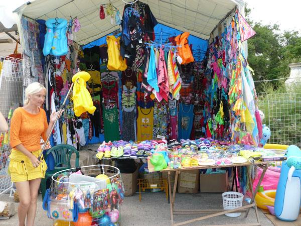 торговые шатры Евпатории