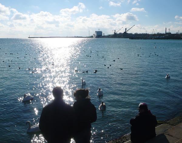 Евпатория, Чёрное море