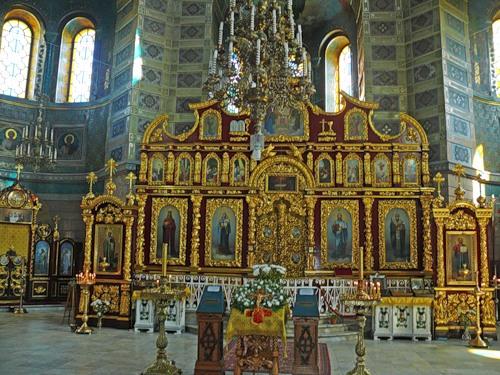 Иконостас Св. Николаевского собора