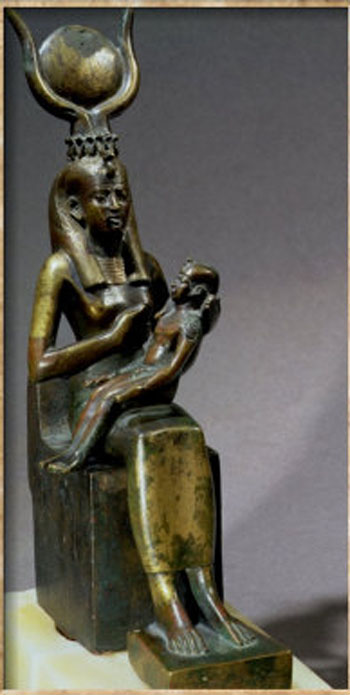 Goddess-Isis-and-Horus