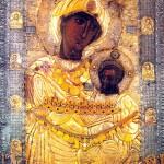 Чудотворная икона Иверской  Божией Матери.
