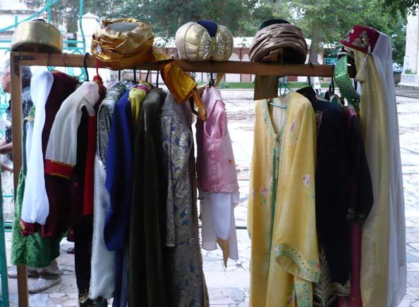 татарские костюмы для туристов