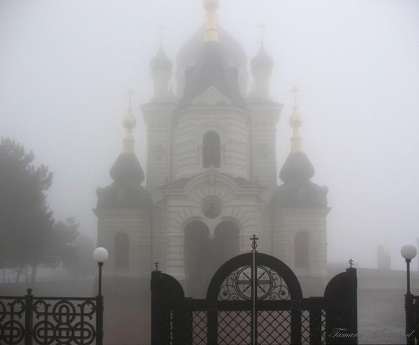 Форосская церковь...туман... n