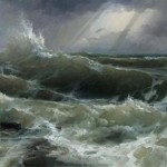 Ураганный ветер  в Крыму.