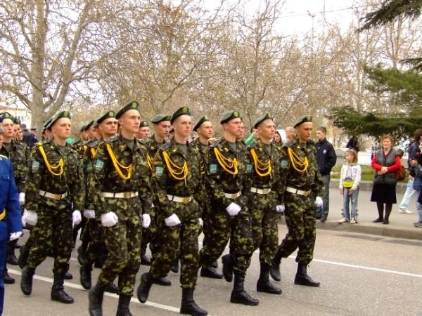 Парад Победы в Севастополе-