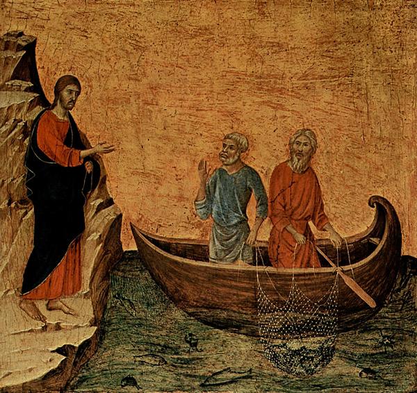 рыбари братья Андрей и Пётр