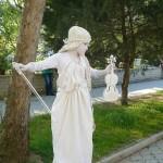 VI открытый чемпионат живых статуй