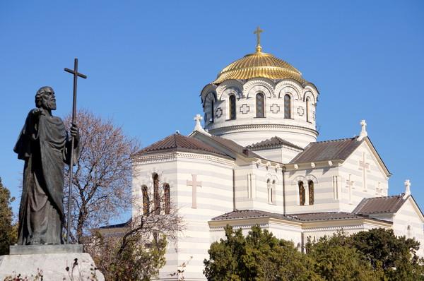 Святой Апостол Андрей Первозванный в Херсонесе1