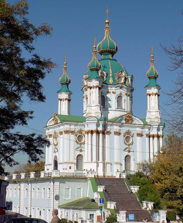 1747 год -Андреевский собор