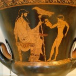 О культе древнегреческого Зевса Отца — Ζευς Πατρώιος.