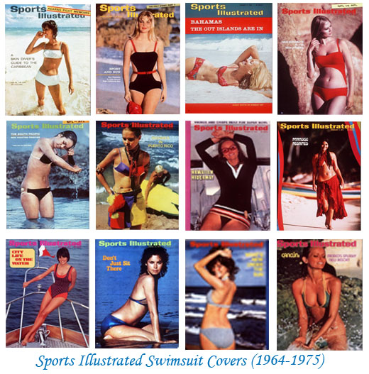 Sports Illustrated Swimsuit Covers1964-1975