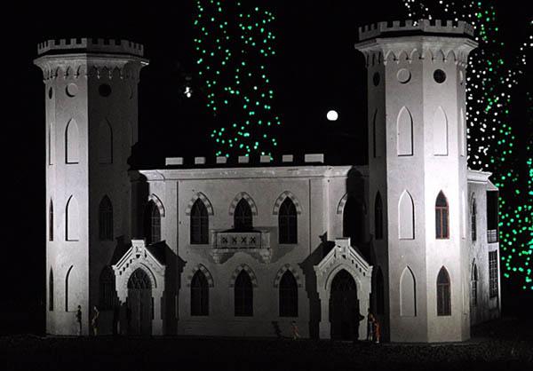 Замок Ясная Поляна в Гаспре.