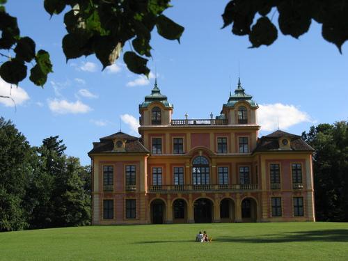 Любимый замок Людвигсбург