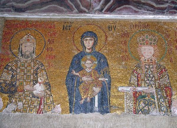 в храме св. Софии