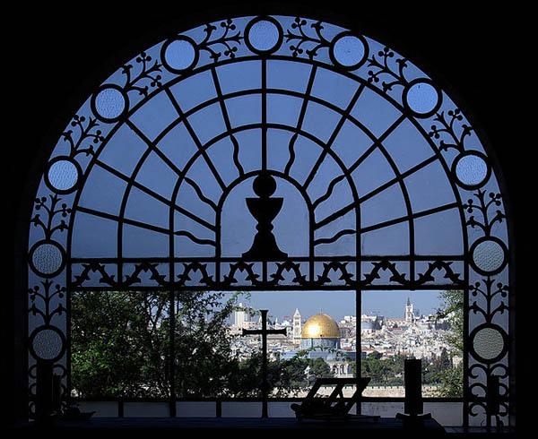 1-церкви Скорбящего Господа на Масличной горе