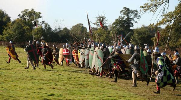 11-битвы при Гастингсе -саксоны и норманы