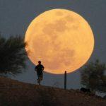 Самая большая Луна на Троицу.