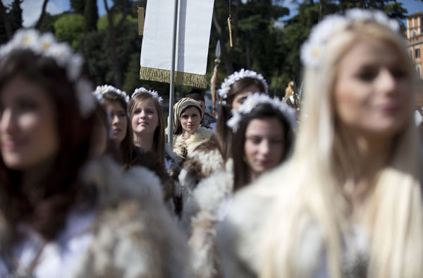 3-рождение Рима -21 апреля