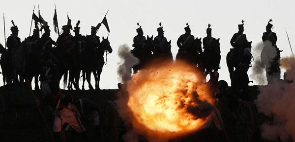 7-реконструкции битвы при Аустерлице