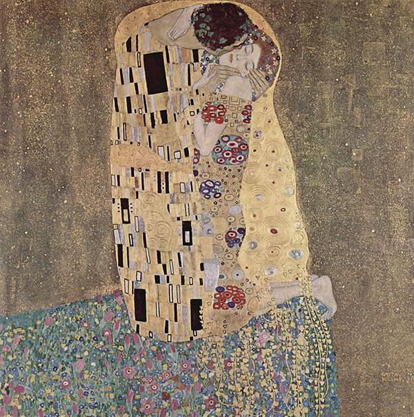 Густав Климт -Поцелуй-1907