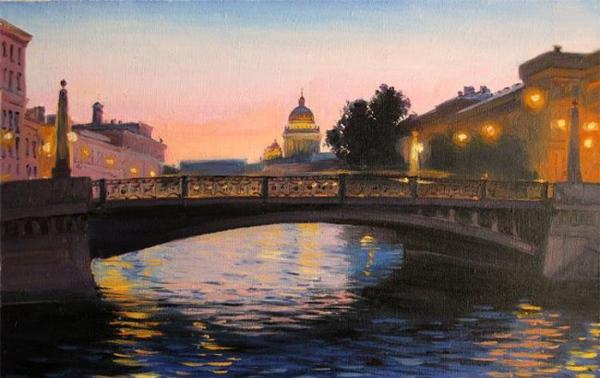 Поцелуев-мост-Санкт-Петербург-