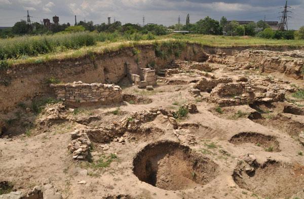 зерновые ямы
