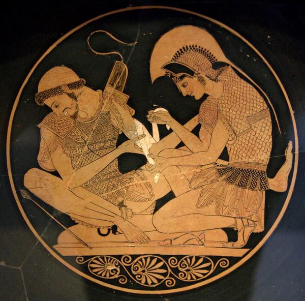 мед.ранение- vulci. 500 гг. До н.э
