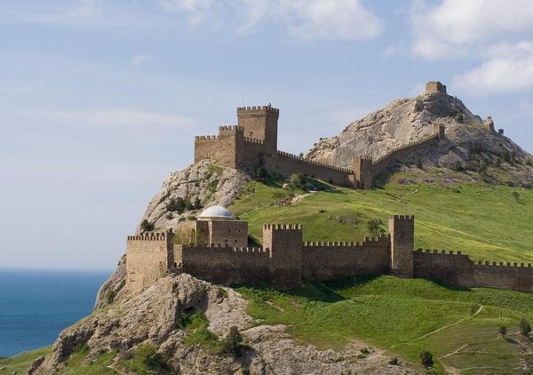 1-судак-генуэзская крепость