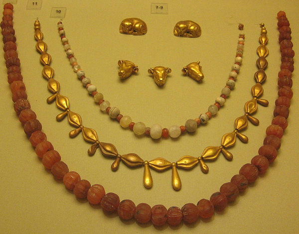 1-Minoan Jewelry-бусы