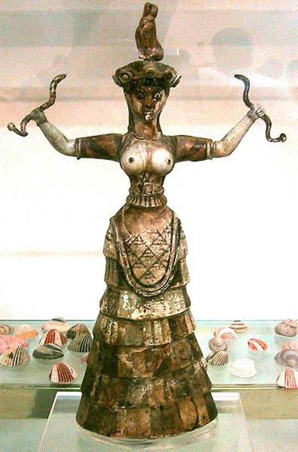 1-Snake_Goddess_Crete_крито-микен. культ- КНОСС-1600BC