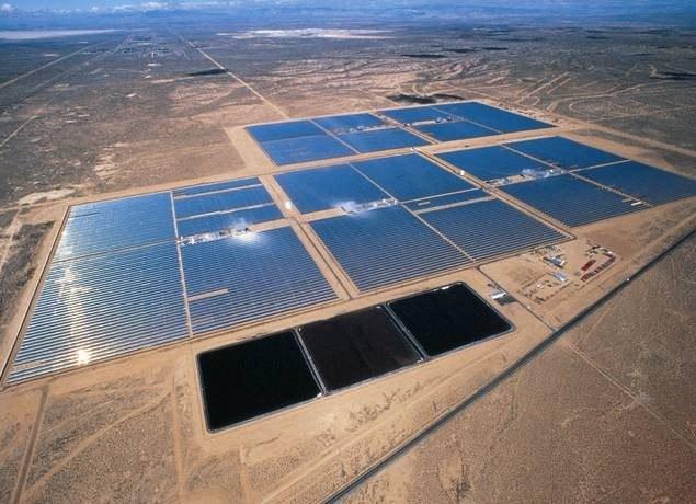 мощнейшая солнечная электростанция в Крыму