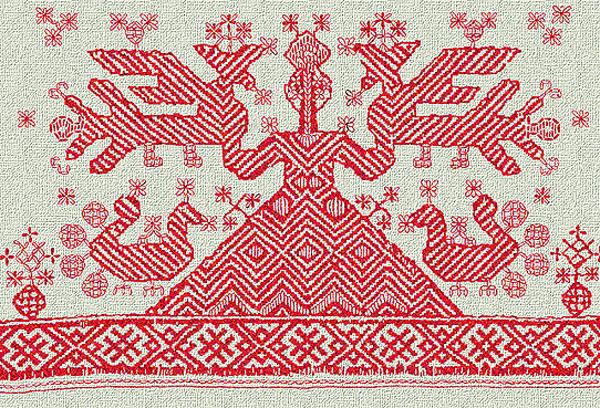 Символы и традиции вышивки