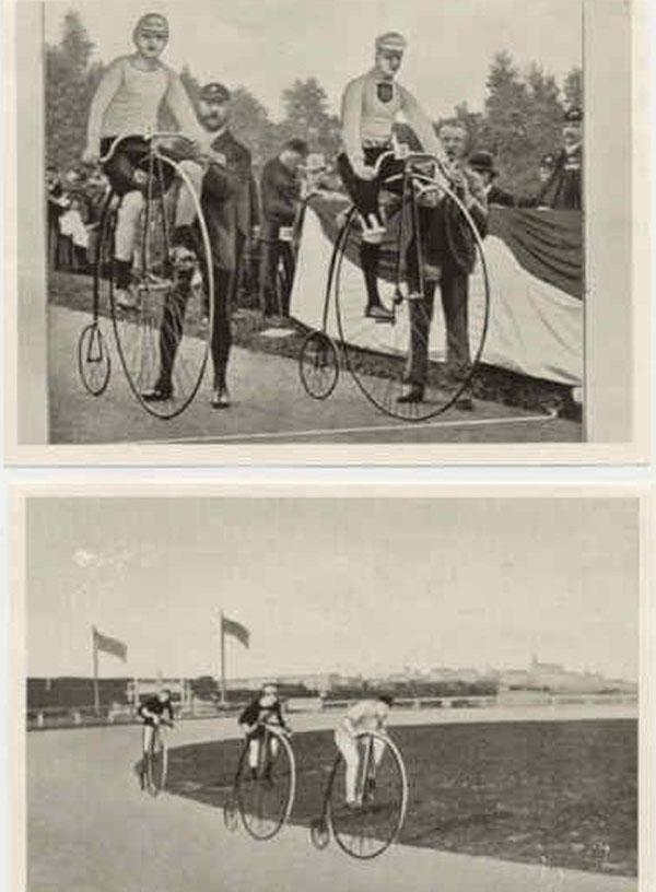 первые вело-гонки