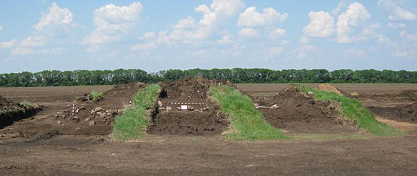 1-The burial mound