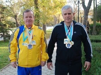 Вадим Астафьев и Александр Бурьба
