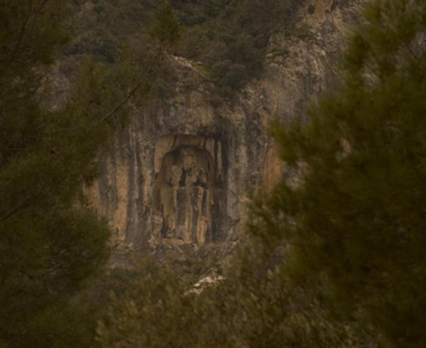 На горе Спил в западной Анатолии